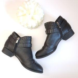 Madden Girl Ariizona Booties Black Size 7.5M